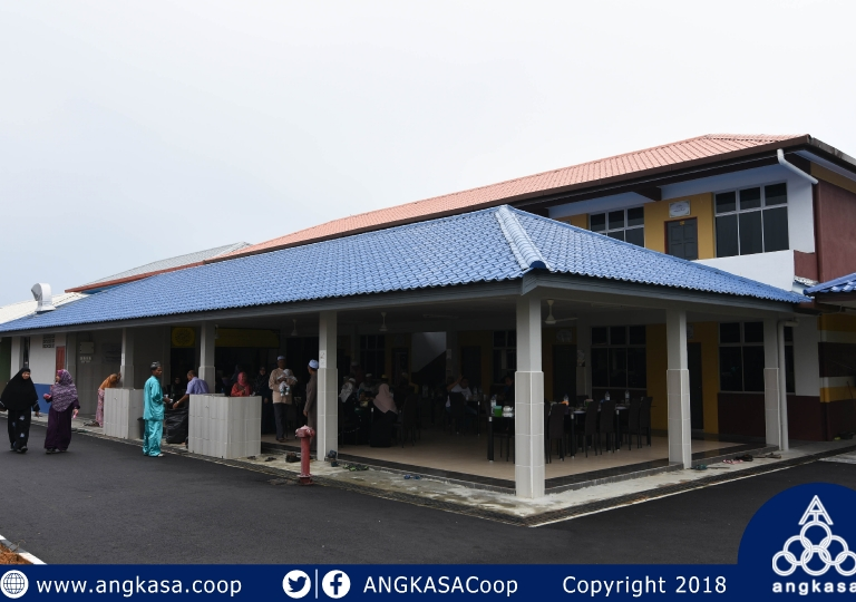The inauguration of the Infaq Lil-Waqf Council of Complex Children's Orphans and Darul Widad Gold Welfare Complex, Linggi, Negeri Sembilan
