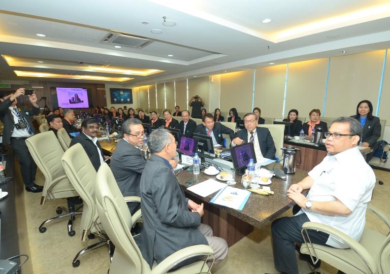 Cooperative League of Thailand's visit to ANGKASA