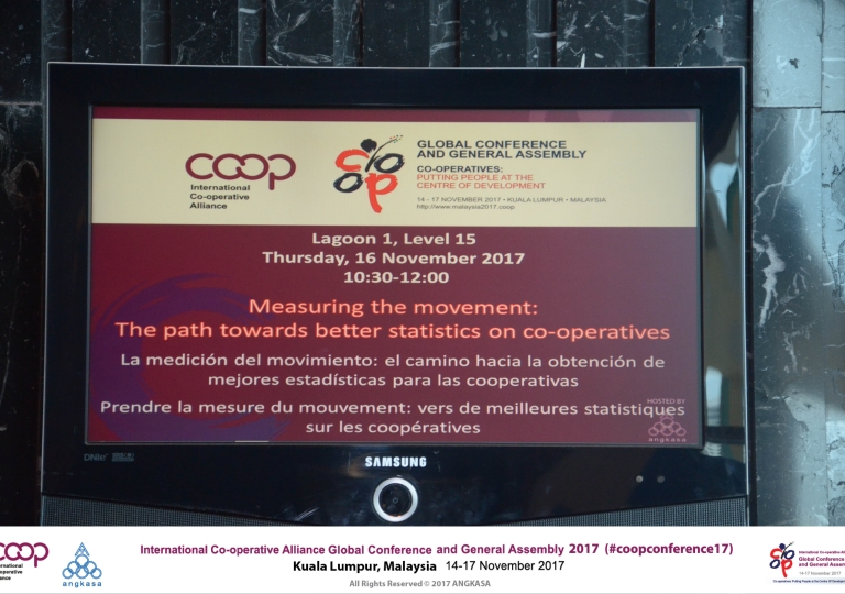 Measuring the movement: The path towards better statistics on co-operatives