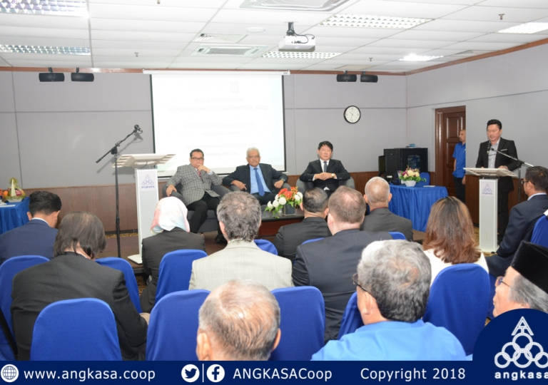 Memorandum of Collaboration Between MyANGKASA Holdings Sdn Bhd & ASN Mobile Sdn Bhd