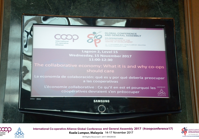The collaborative economy: What it is and why co-ops should care