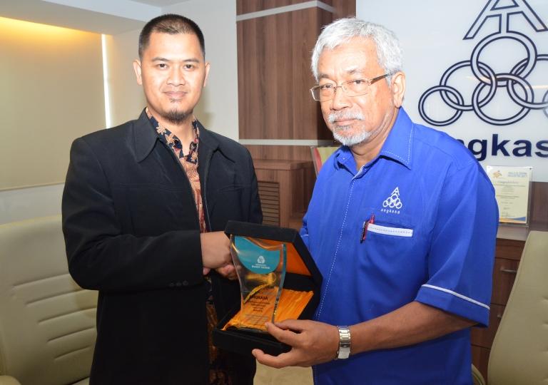 Visit from Pondok Pesantren Daarut Tauhid Indonesia Cooperative to ANGKASA